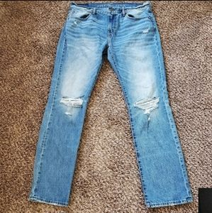 AMERICAN EAGLE original straight destroyed jeans